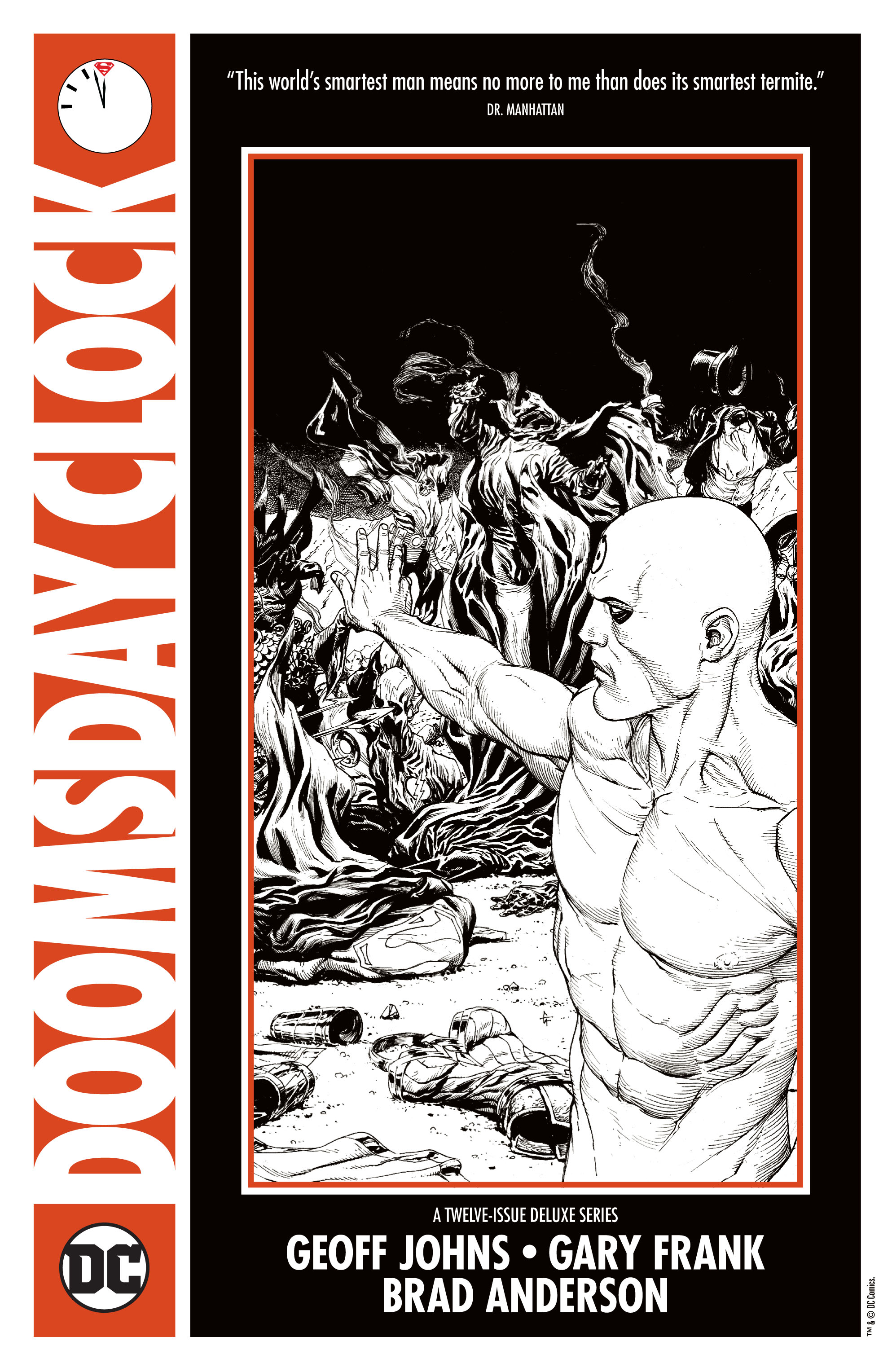 DC Comics Teases Doomsday Clock With Cryptic House Ad With