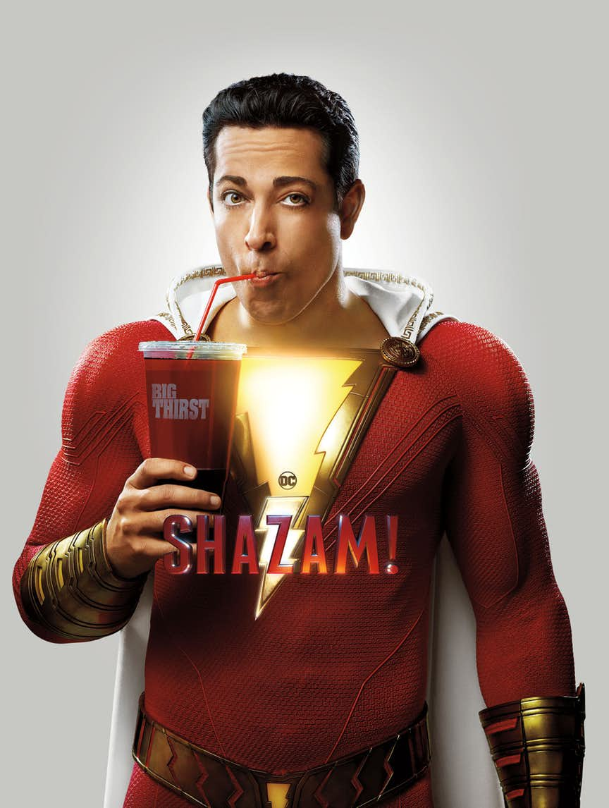 Shazam Gets A New Edition With Ties To Captain Marvel Film Zachary Levi Solicitation And Movie Photo Cover Below