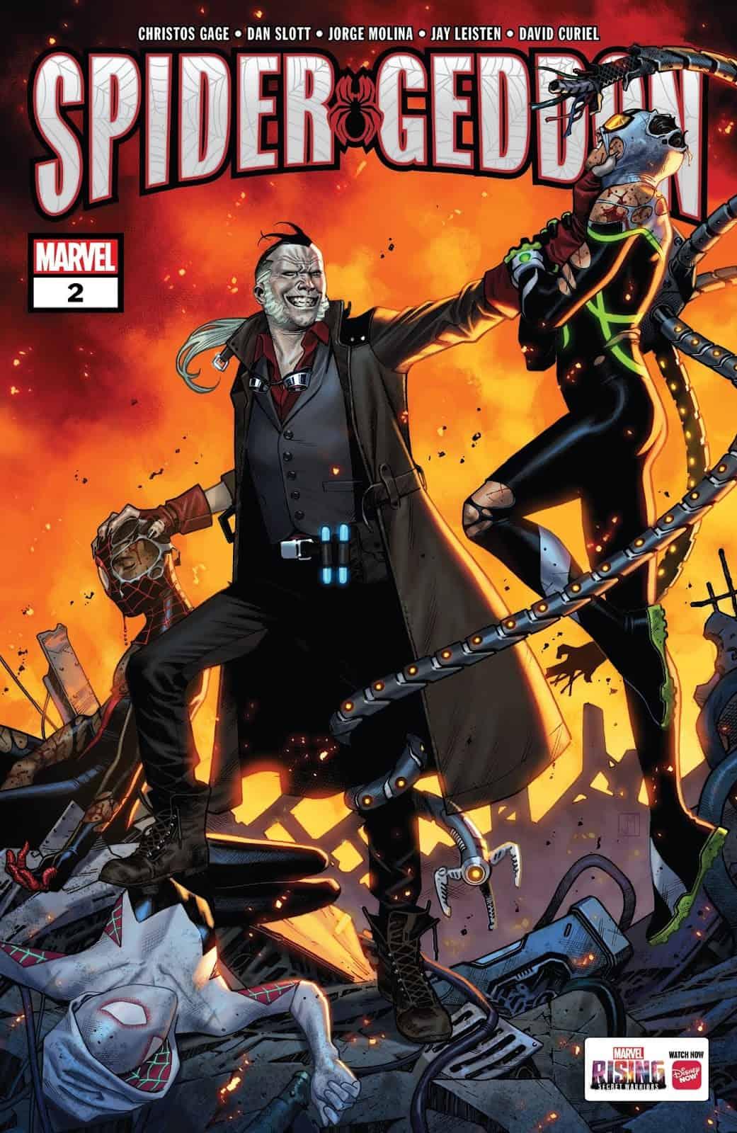 marvel comics universe amp spidergeddon 2 spoilers why