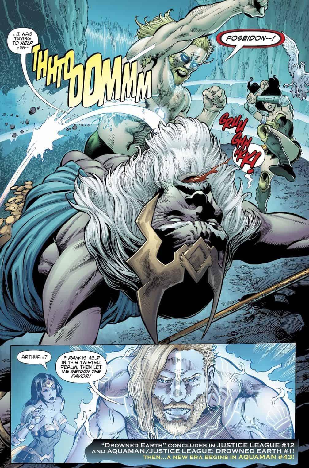 DC Comics Universe, Justice League #12 & Aquaman #42