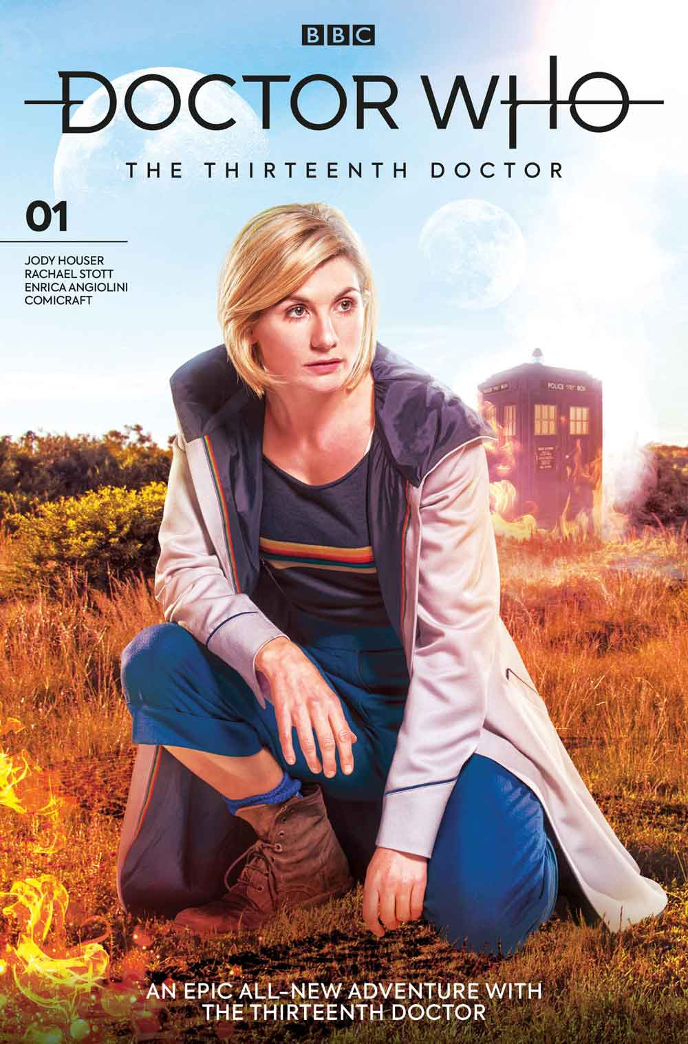 Titan, BBC & Doctor Who The Thirteenth Doctor #1 Spoilers