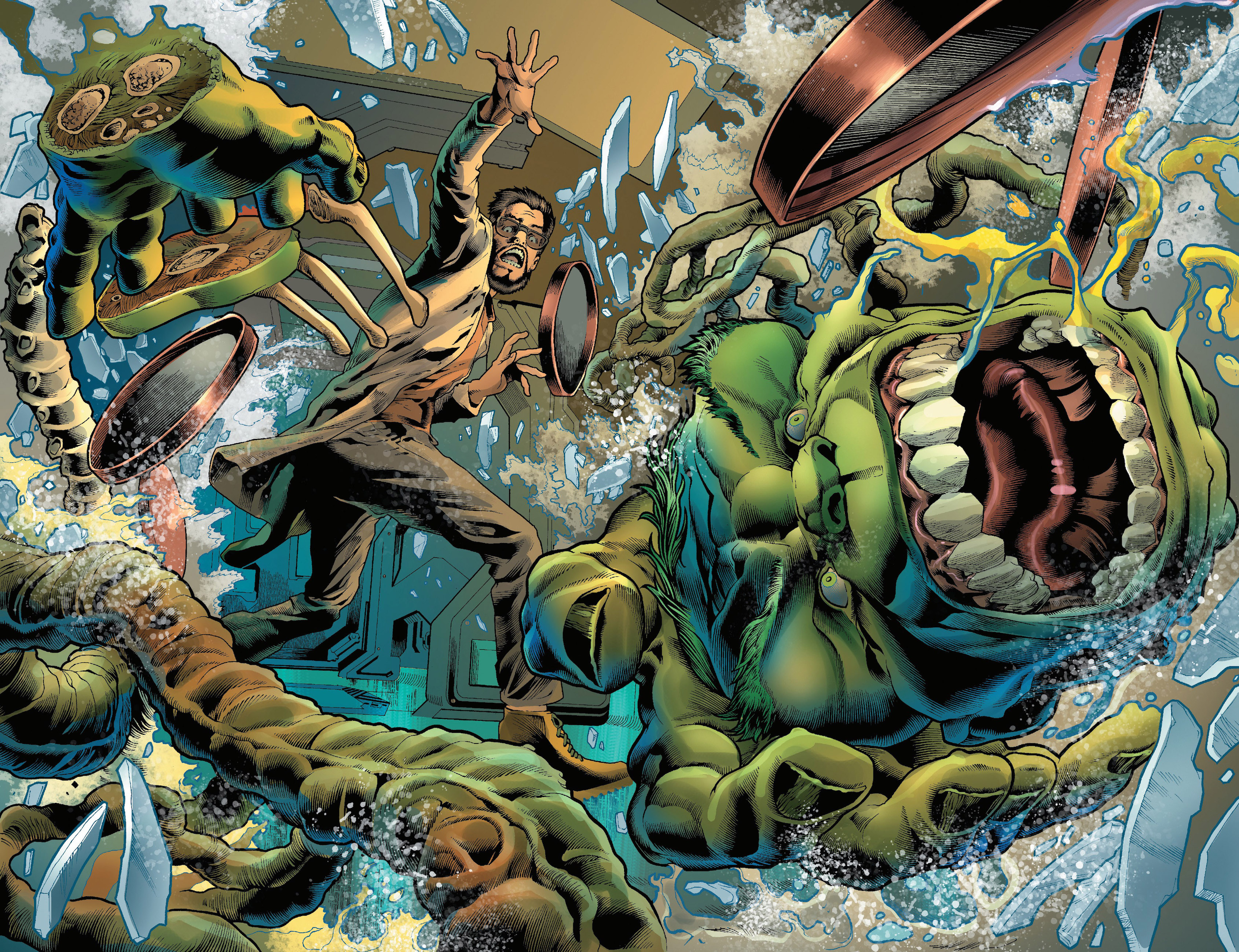This is an image of Nerdy A Picture of the Hulk
