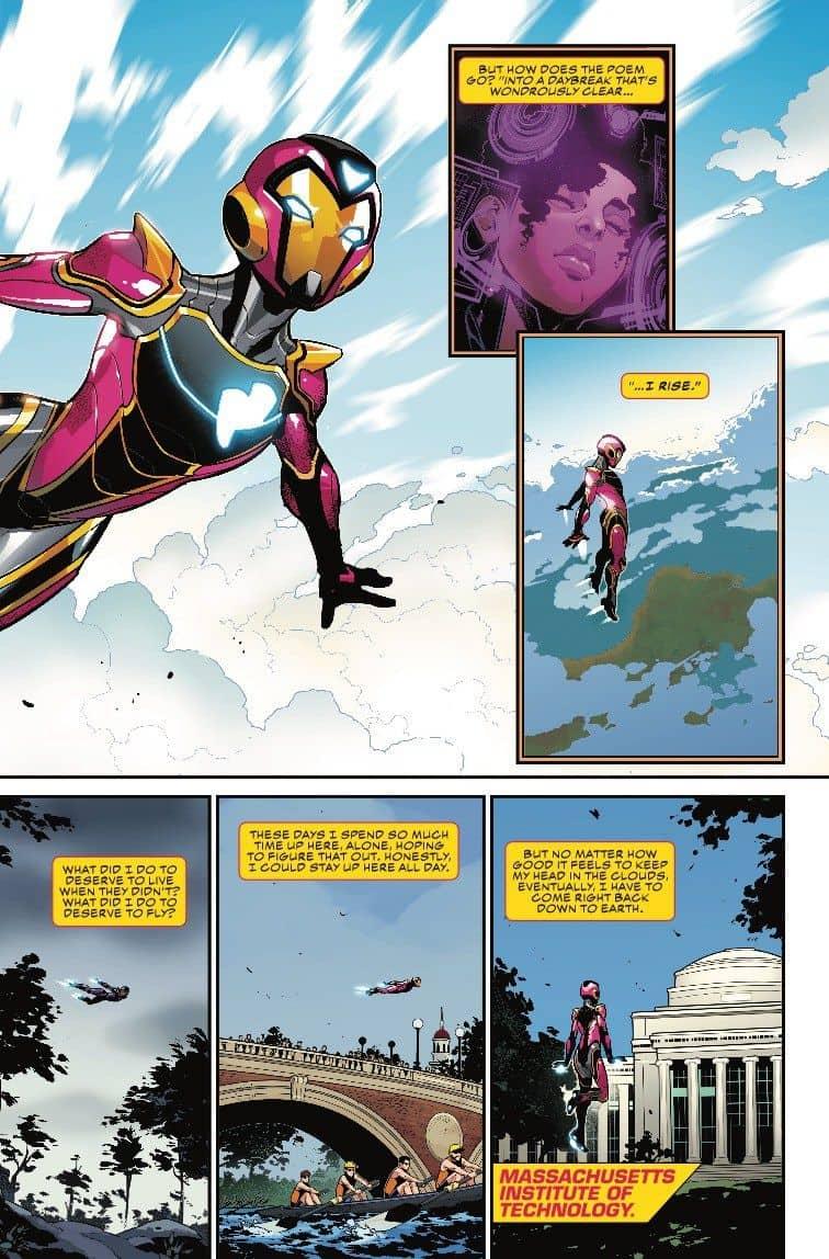 Marvel Comics Universe & Ironheart #1 Spoilers: Riri