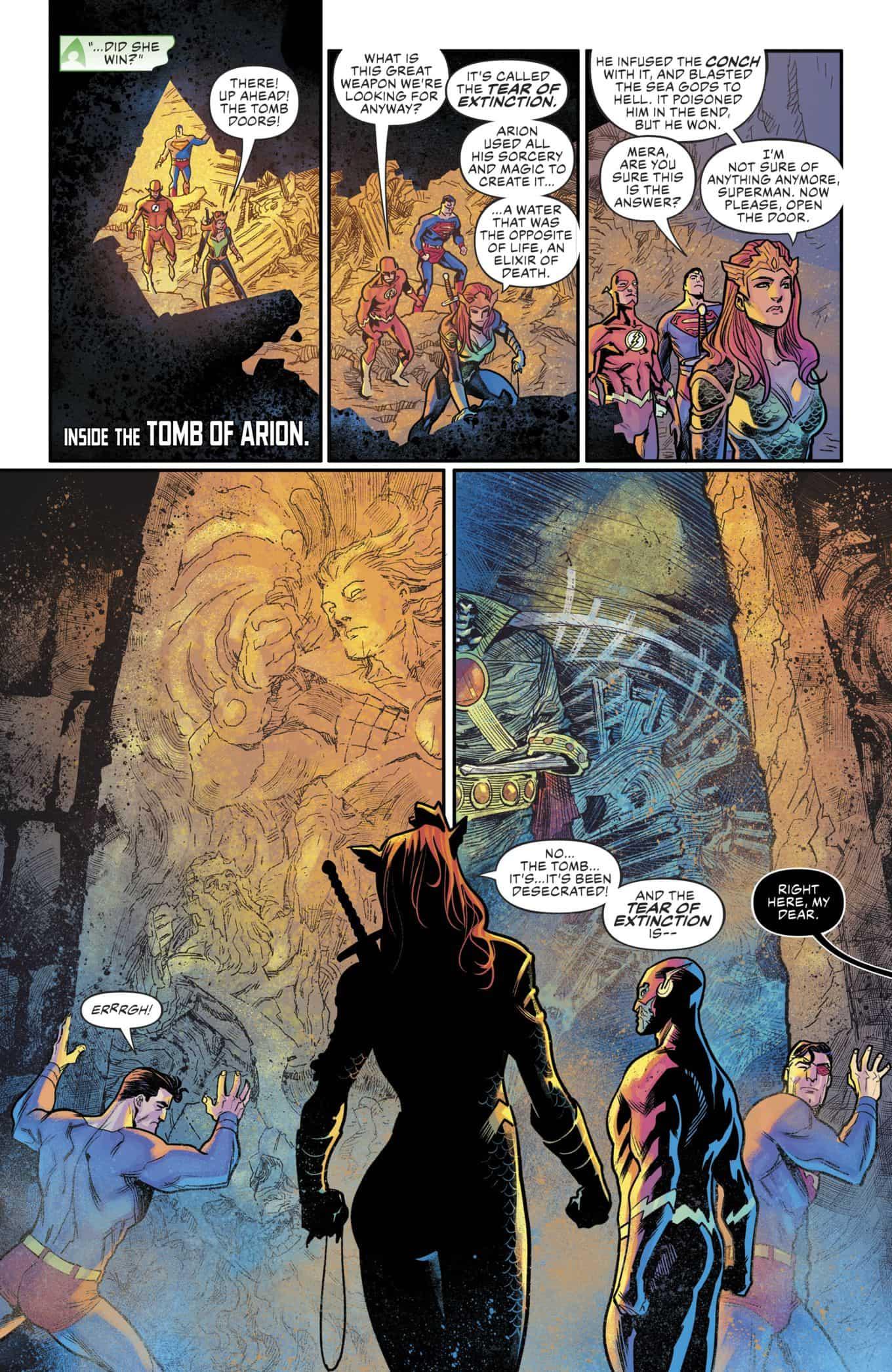 DC Comics Universe & Justice League #11 Spoilers: Drowned Earth Part