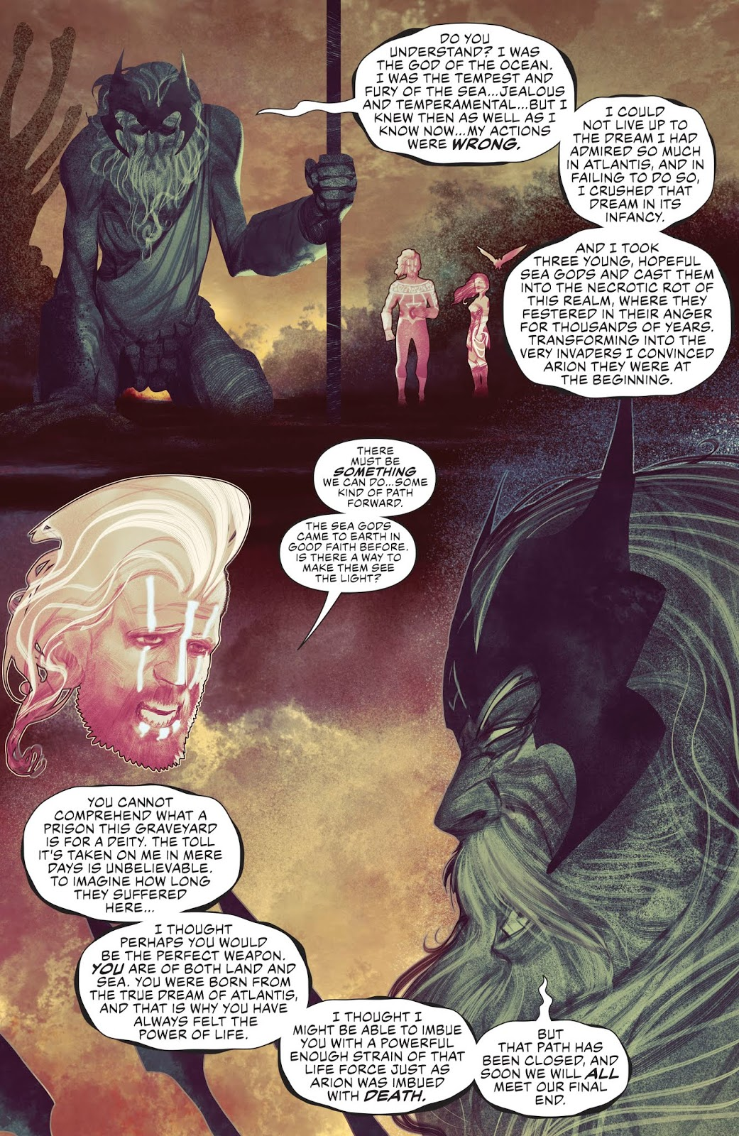 DC Comics Universe, Justice League #12 & Aquaman #42 Spoilers ...