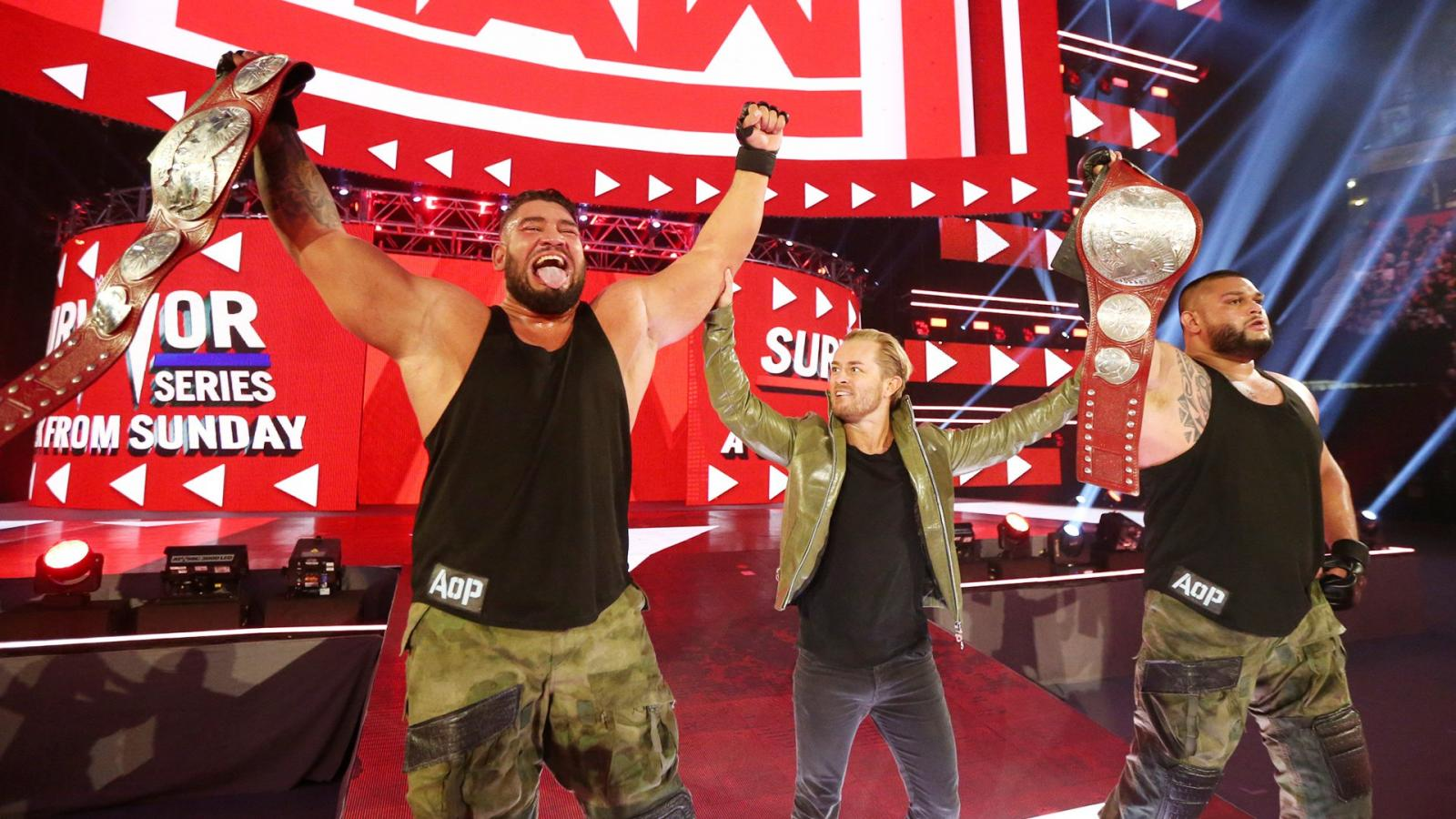 WWE Monday Night Raw 11 05 18 Spoilers: New Raw Tag Team