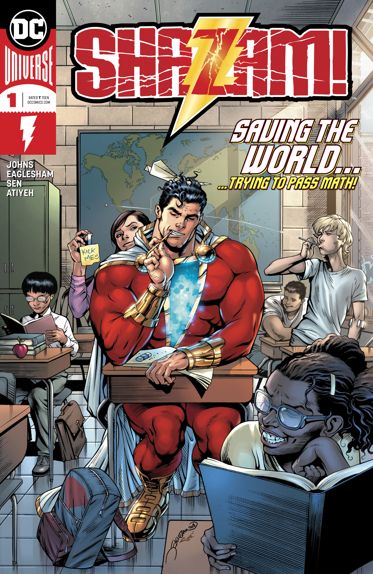 dc comics universe & shazam! #1 spoilers & review: the shazam