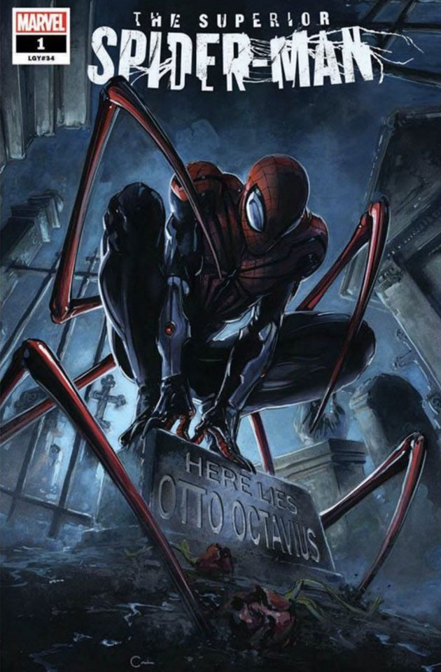 marvel comic universe amp superior spiderman 1 spoilers