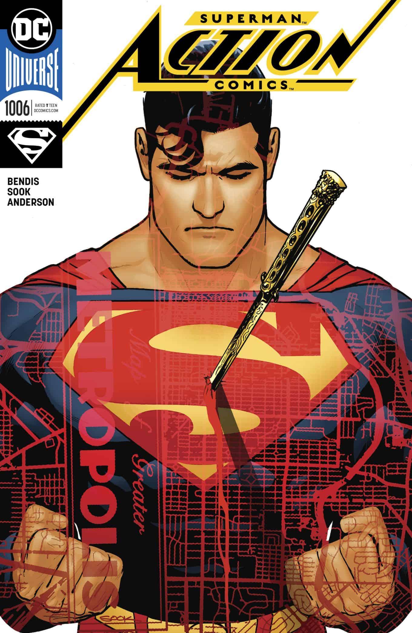 DC Comics Universe & Action Comics #1006 Spoilers & Review: Red