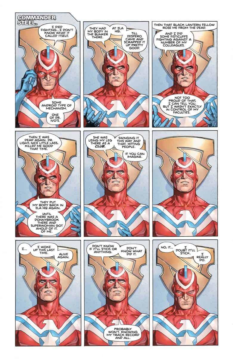 DC Comics Universe & Heroes In Crisis #5 Spoilers: More