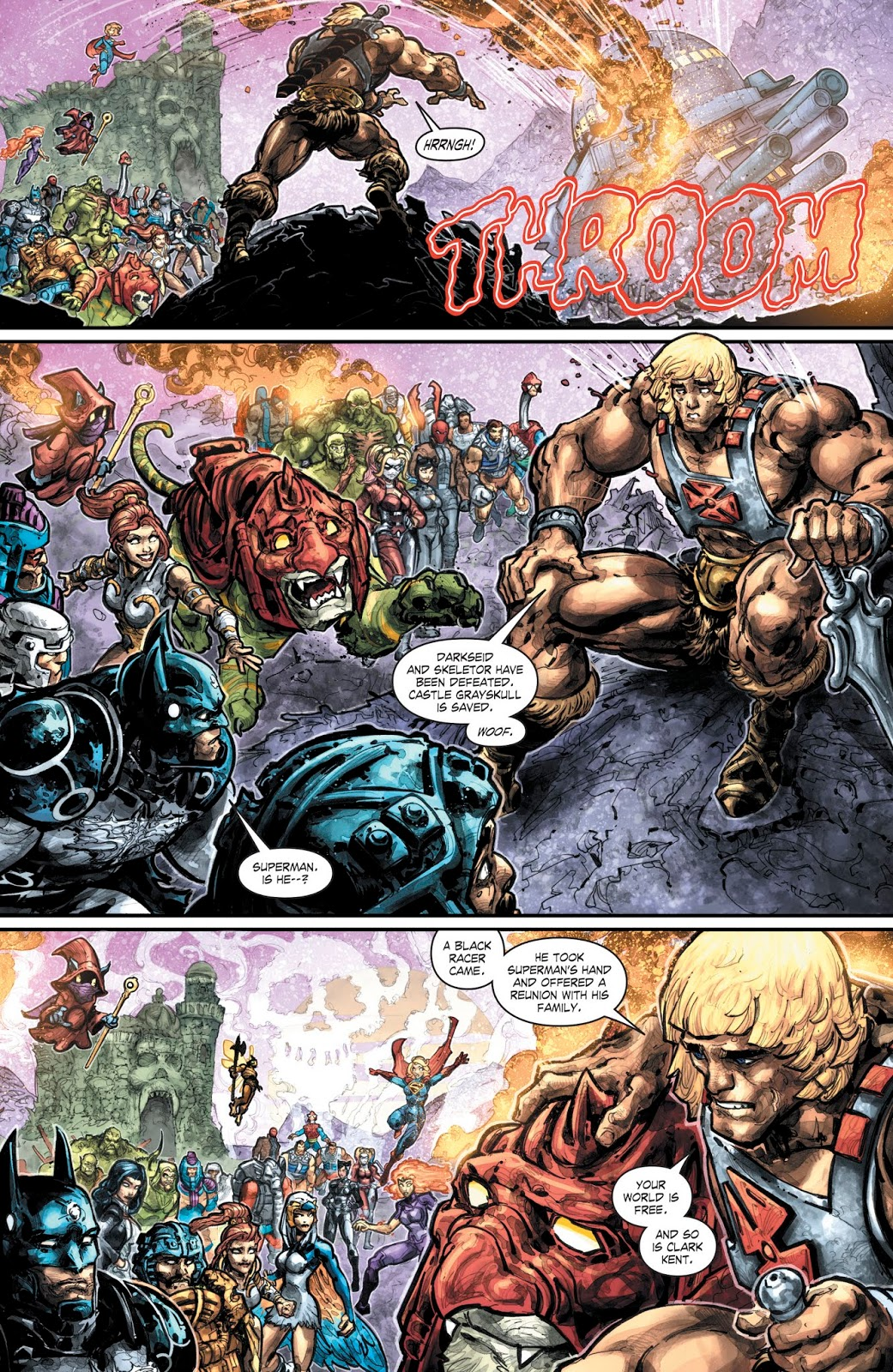 Dc Comics Universe Mattel Injustice Vs Masters Of The Universe 6 Spoilers How Does This Epic End What Are The Fates Of Superman He Man Inside Pulse