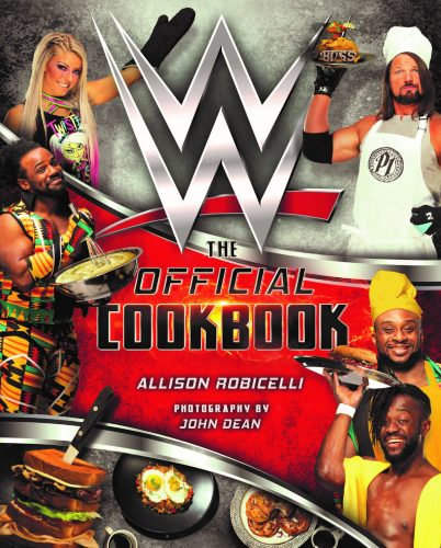 WWE Announces The Official WWE Cookbook