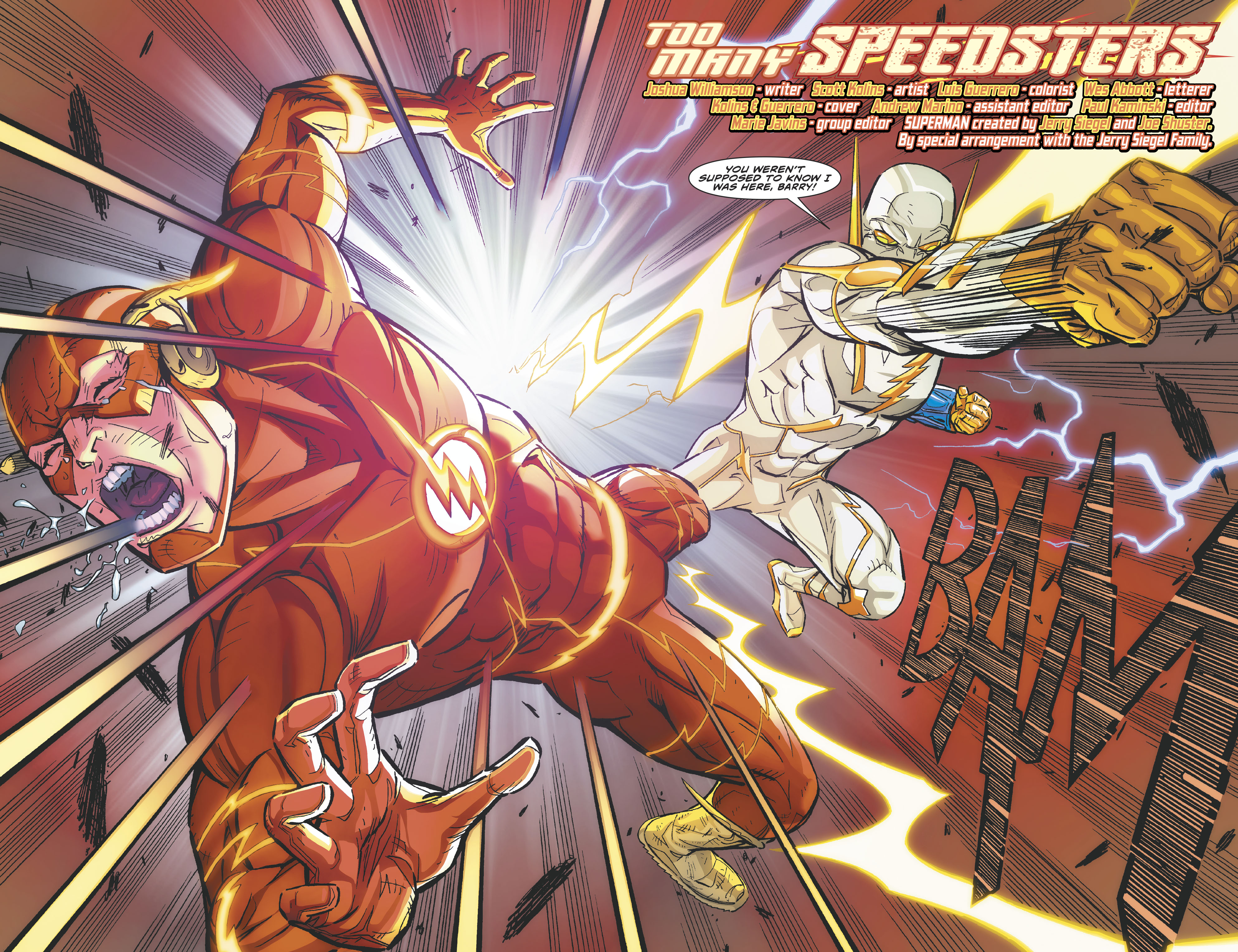 DC Comics Universe & The Flash Annual #2 Spoilers: Heroes In