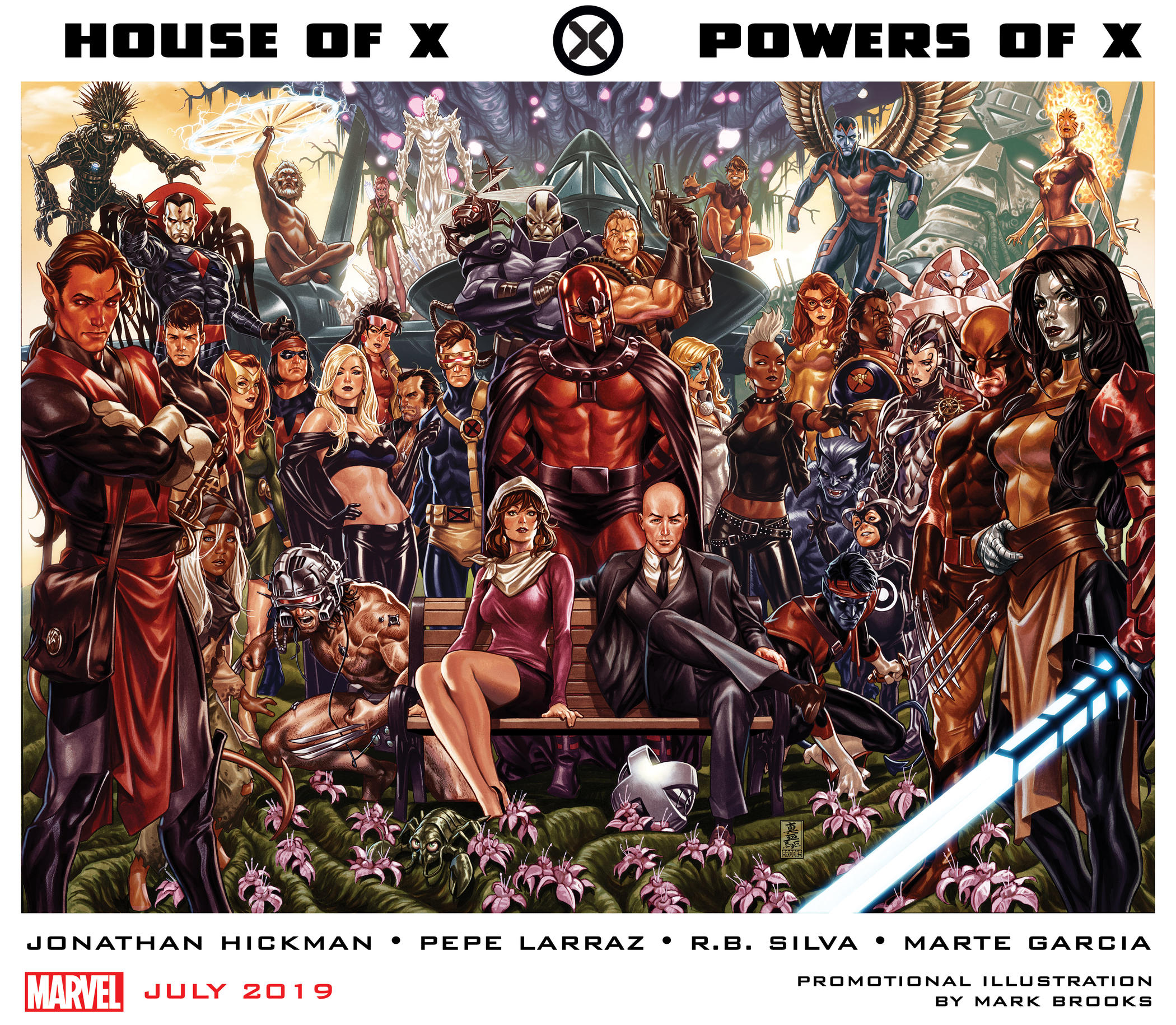 House and Powers of X Comics July 2019