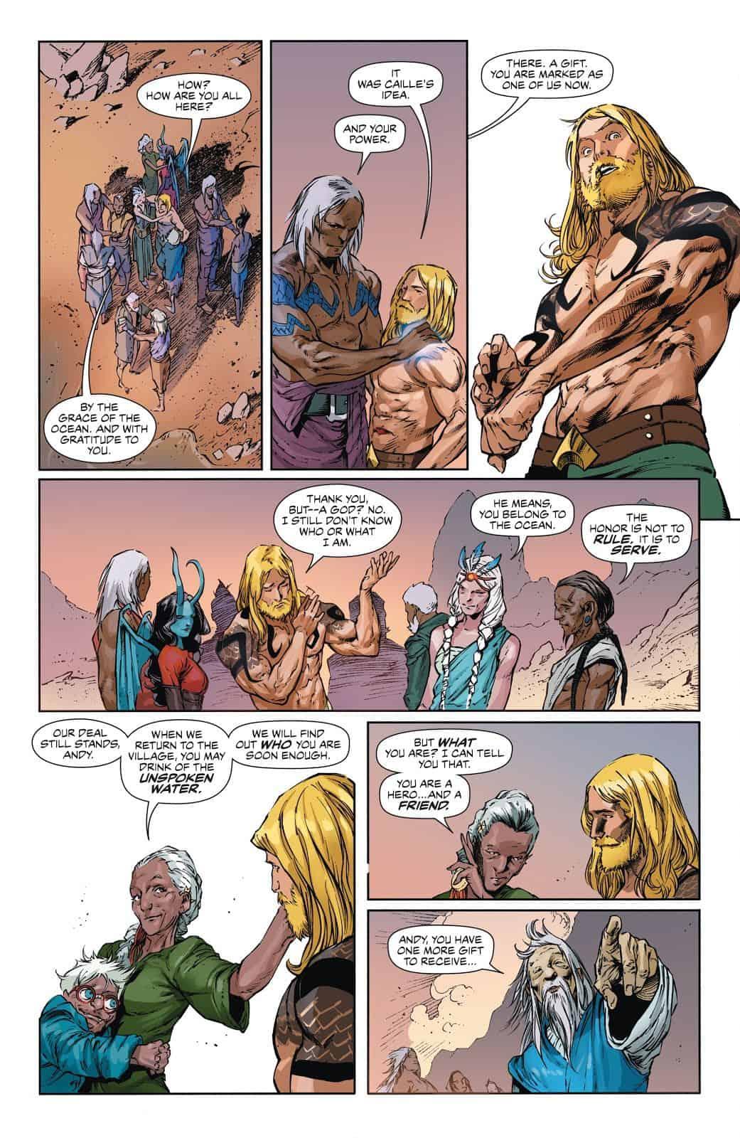 Dc Comics Universe Aquaman 47 Spoilers Aquaman Becomes Jason