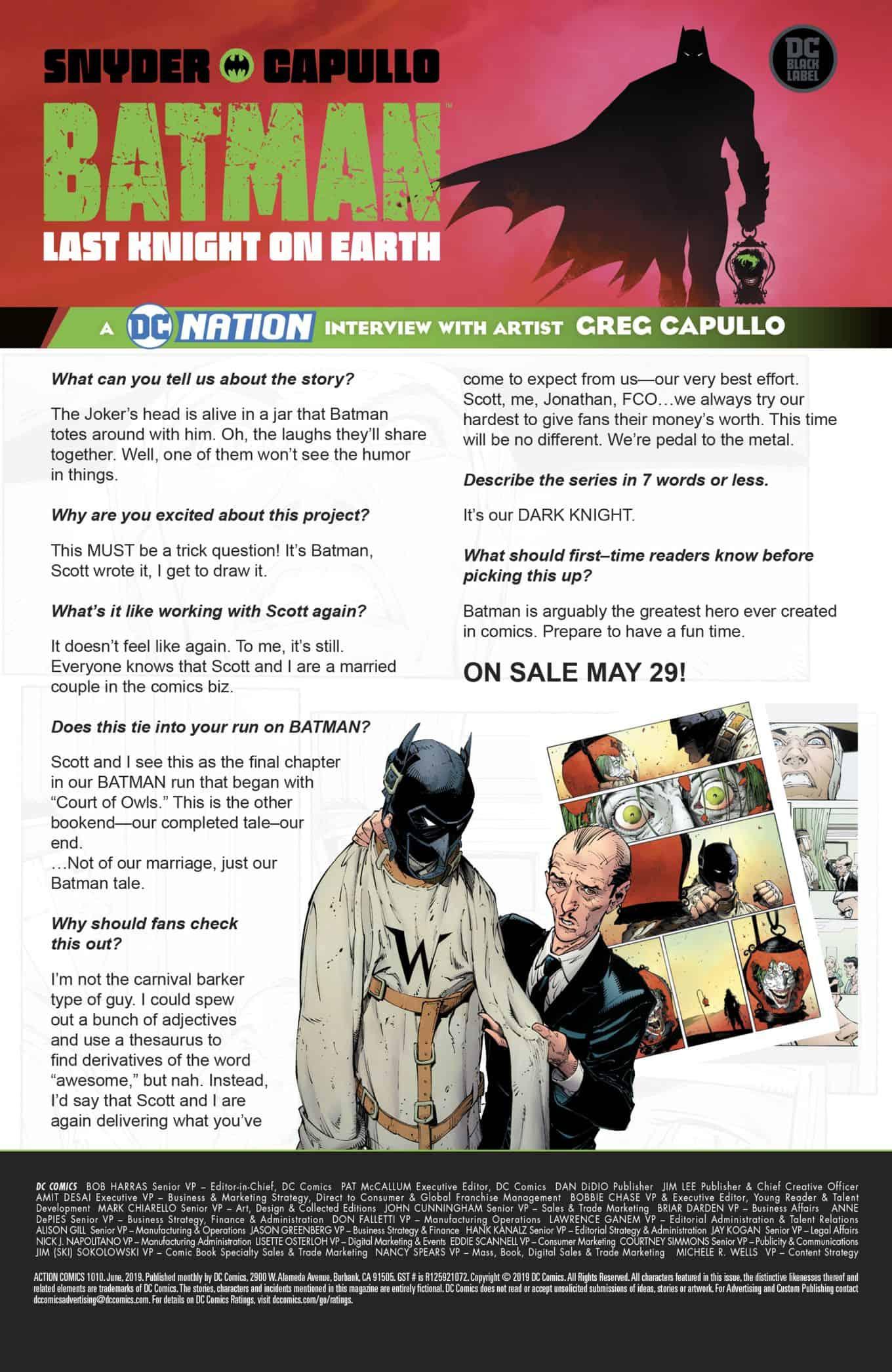 DC Comics Teases The Last Chapter Of The Batman Saga AKA The Final