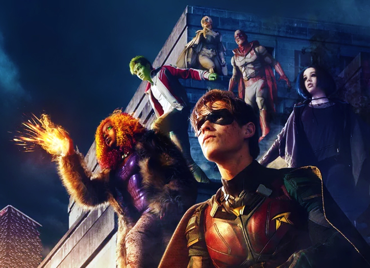 Titans Movie 2019 Poster: DC Universe Streaming Service & Netflix's Sees DC TV