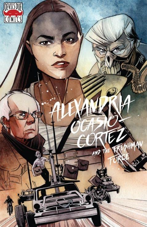 ALEXANDRIA OCASIO CORTEZ /& FRESHMAN FORCE WHO DIS ONE SHOT COMIC BOOK NEW 1 AOC