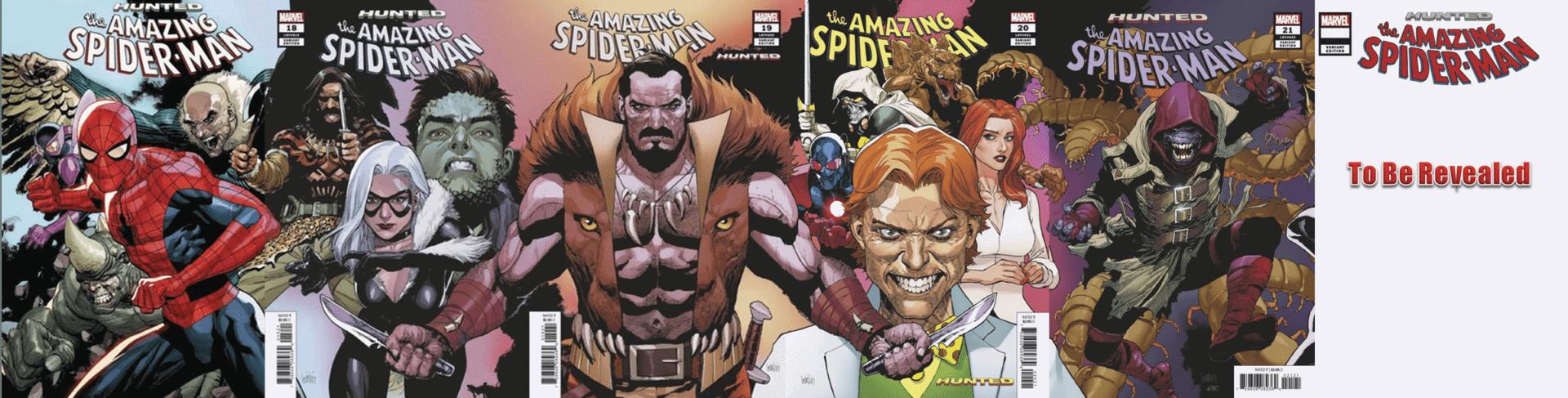 Amazing Spider-Man #21 Marvel 2019 Yu Connecting Variant