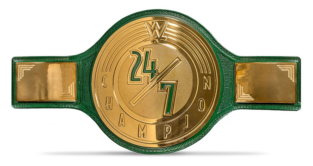 WWE 24/7 Title Changes Hands On A Golf Course