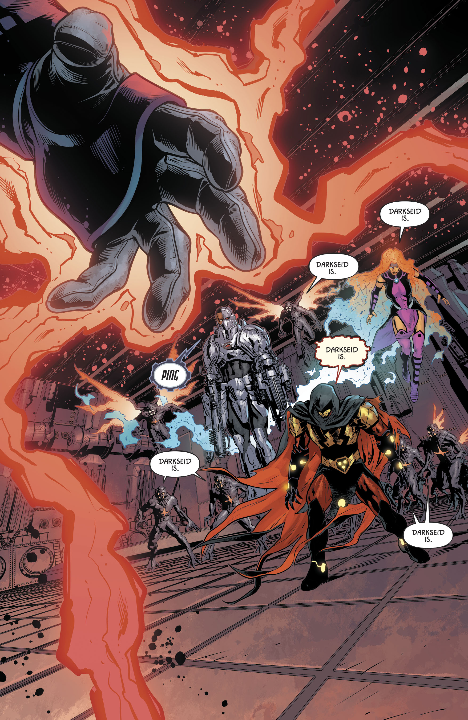Dc Comics Universe Justice League Odyssey 12 Spoilers Review Darkseid Is Again Will He Be Apex Lex Luthor S Downfall In Dc S Year Of The Villain Plus A Death Inside Pulse