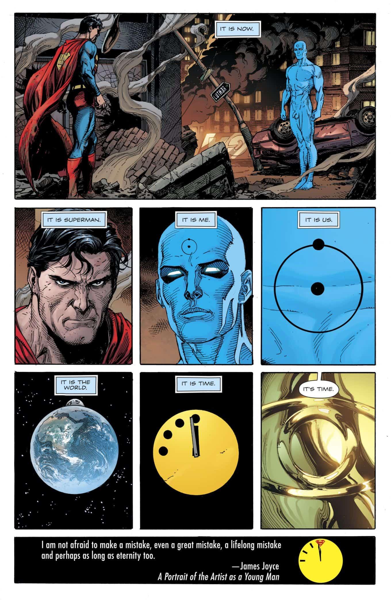 Doomsday Clock 12 Finale Has Dc Comics Release Date Finally