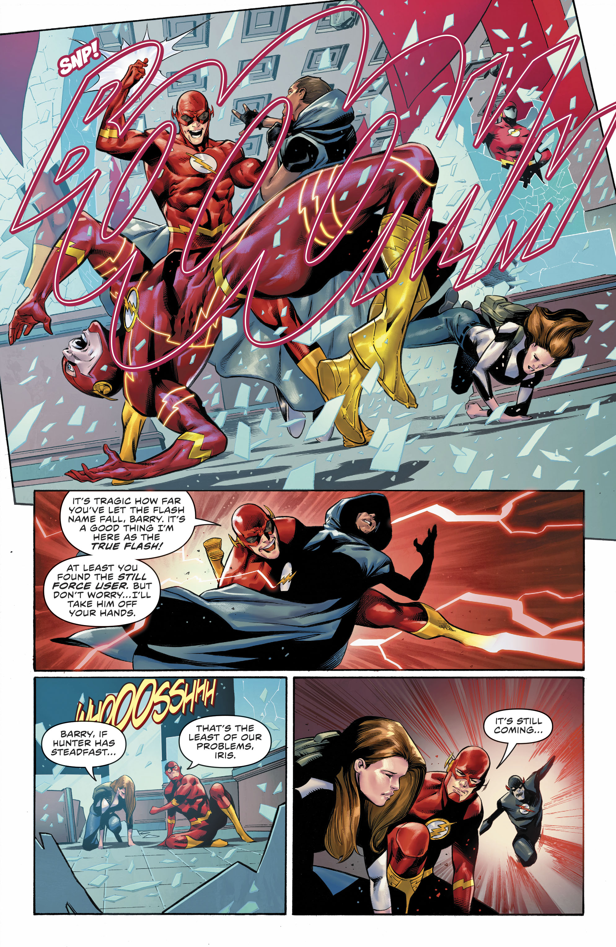 Dc Comics Universe The Flash 79 Spoilers Review A Big Return A Big Revelation Wally West The Flash S Long Shadow The Real Rogues Inside Pulse