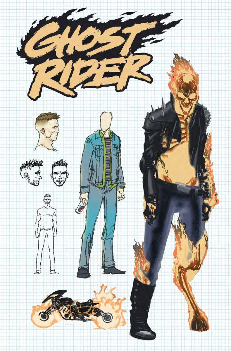 Marvel Comics Universe Ghost Rider 1 Spoilers The New