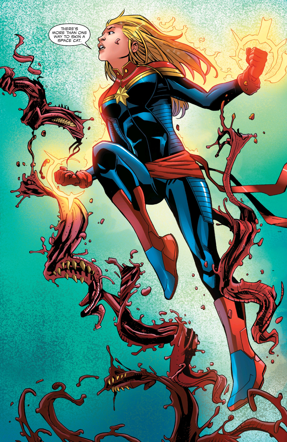 Marvel Comics Universe & Absolute Carnage: Captain Marvel ...