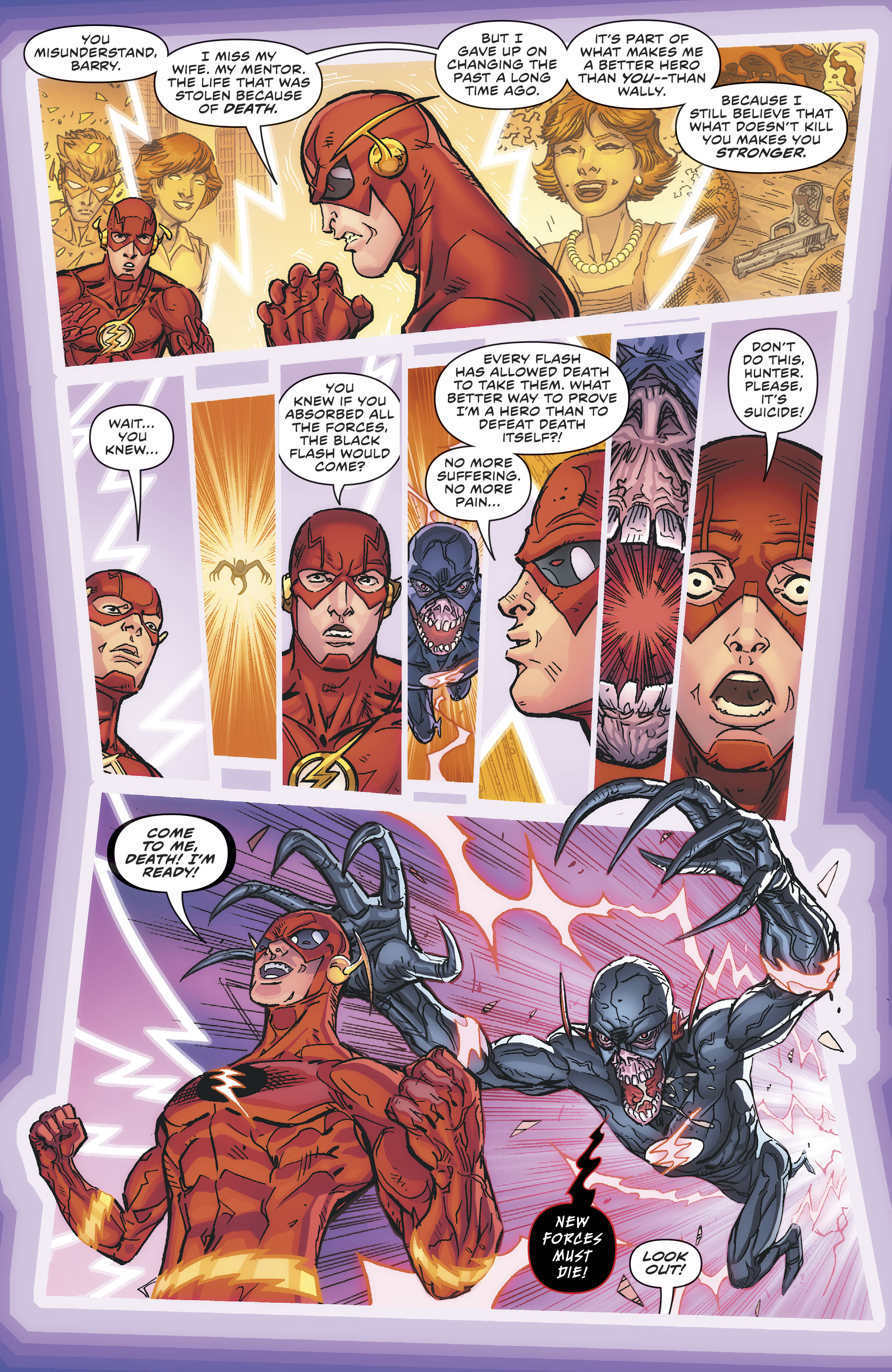 Dc Comics Universe The Flash 80 Spoilers Review How Is The Ultimate Flash Of The Multiverse Yet Another New Force Debuts Plus A Flash Dies Inside Pulse