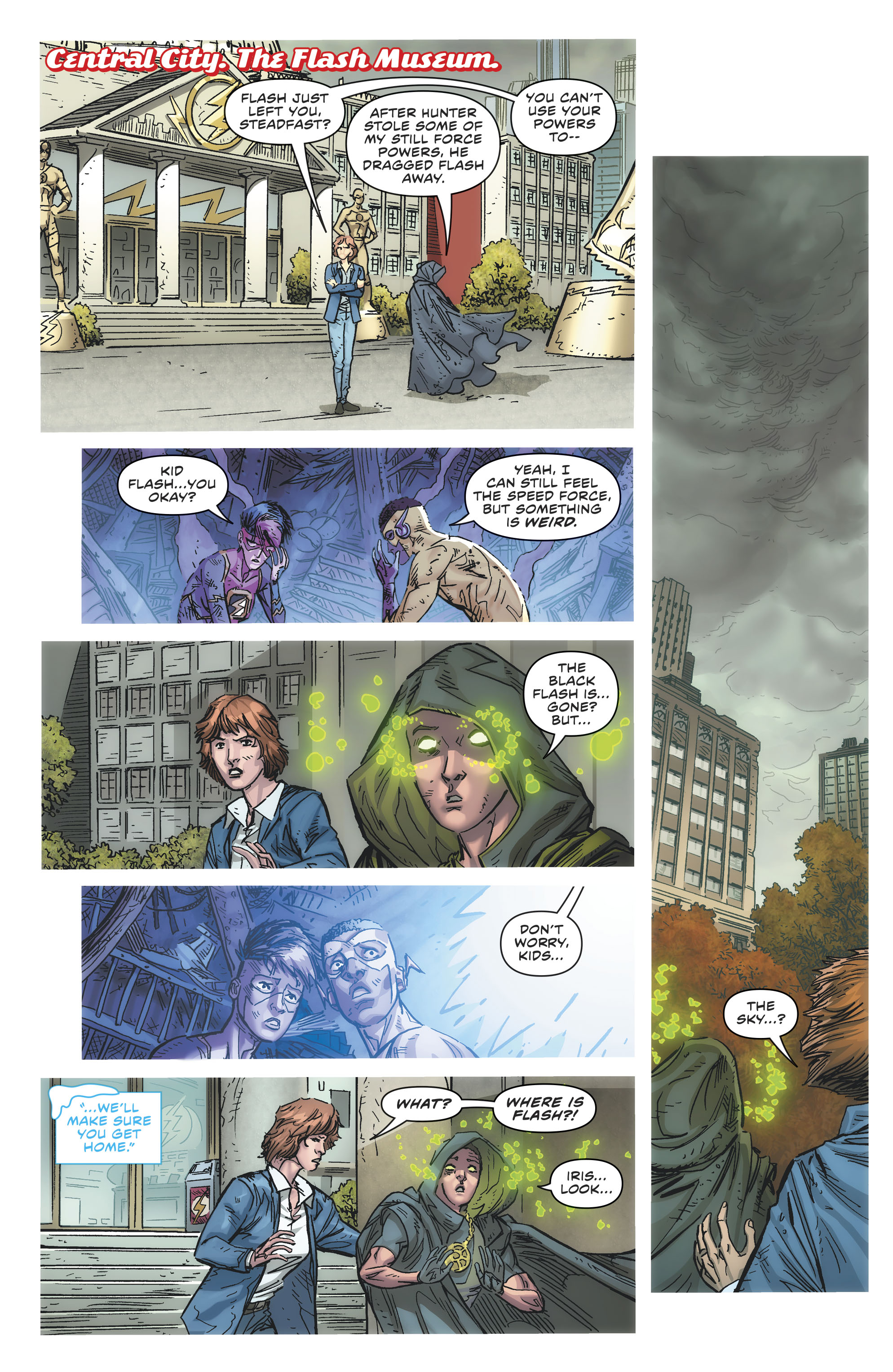 Dc Comics Universe The Flash 81 Spoilers Review Who Dies What S Next It S Been Building To This A Big Issue Inside Pulse