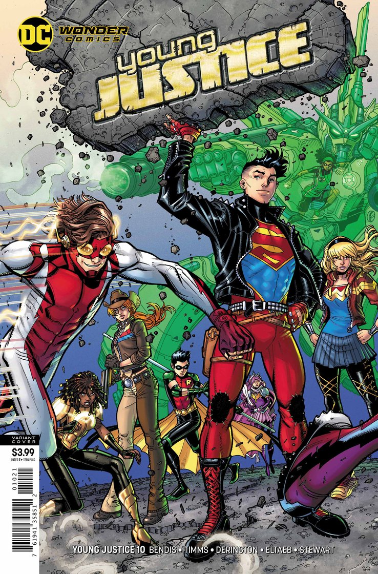 DC Comics Universe & January 2019 Solicitations Spoilers ... |Young Justice Tim Drake Red Robin