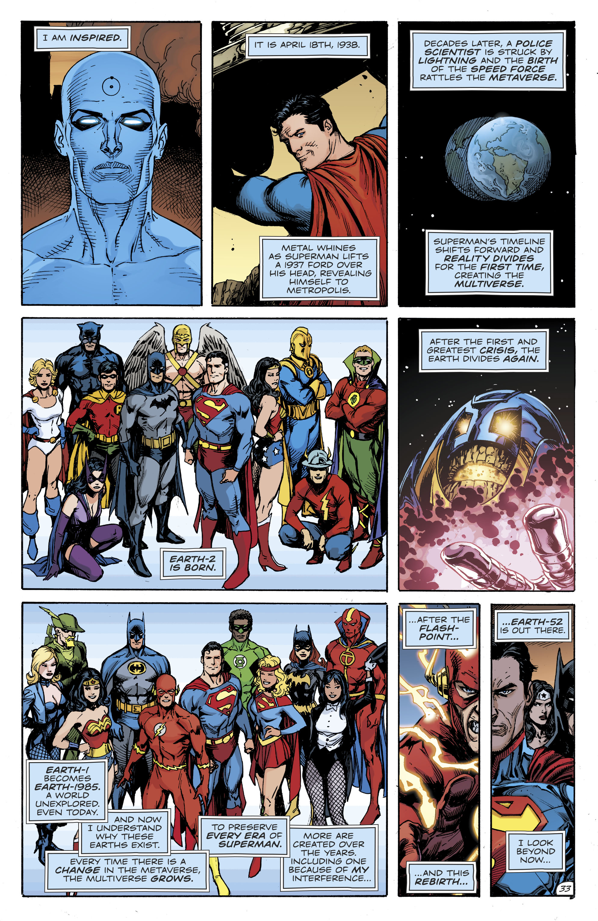 Dc Comics Universe Doomsday Clock 12 Spoilers Review