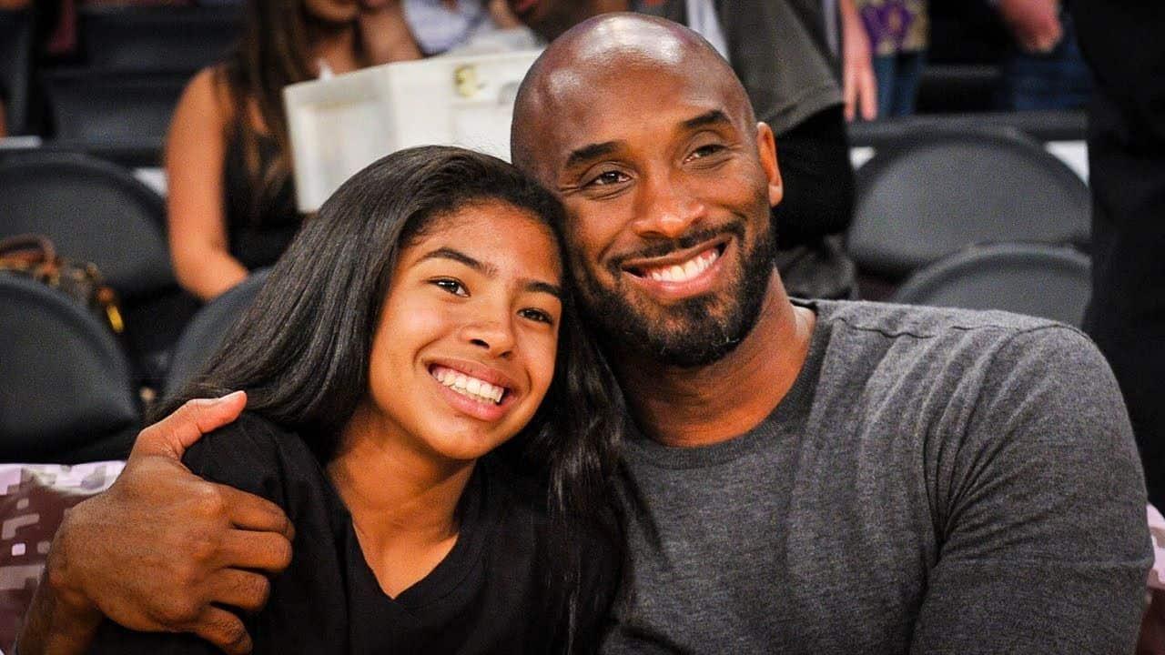 LA Laker Legend Kobe Bryant, His 13 Year Old Daughter ...