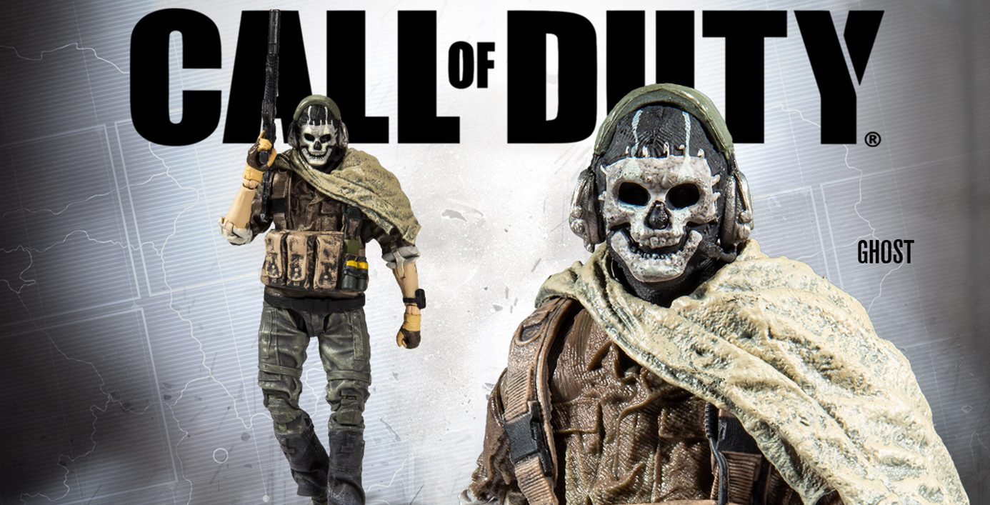 Mcfarlane Reveals A Brand New Call Of Duty Ghost Figure Inside Pulse