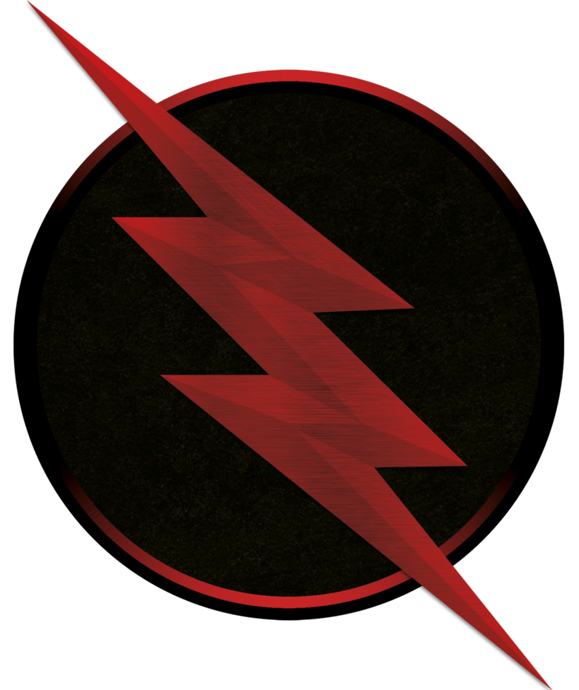 Reverse Flash Zoom Black Flash Logo Inside Pulse