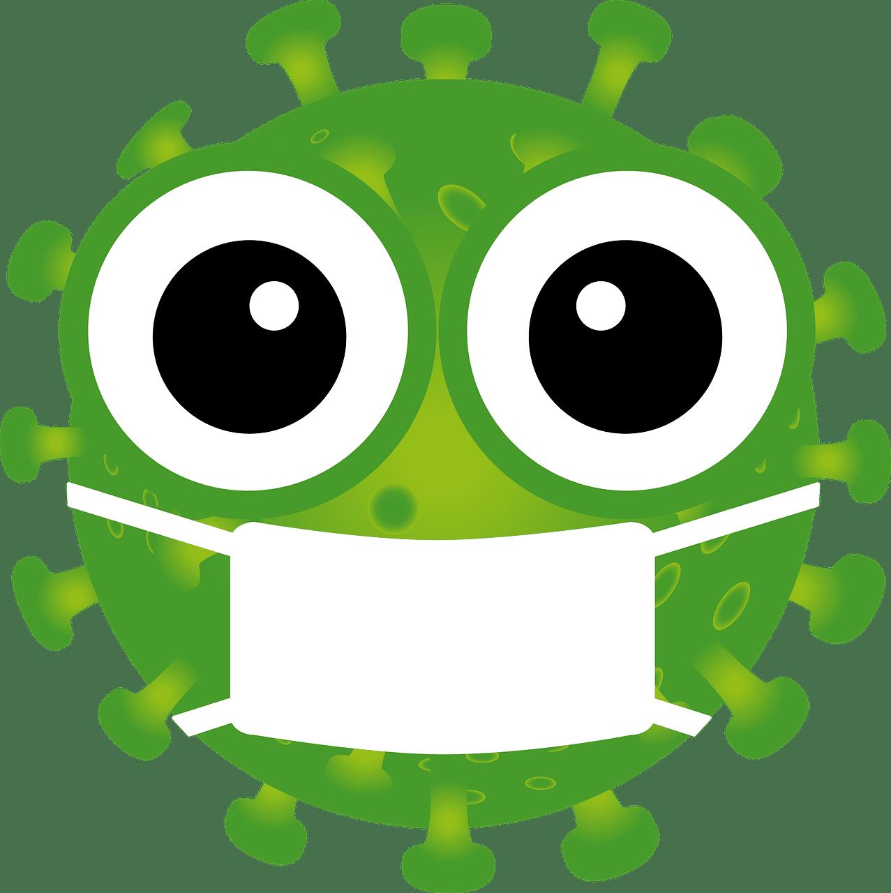 Coronavirus Covid-19 logo symbol face mask cartoon | Inside Pulse