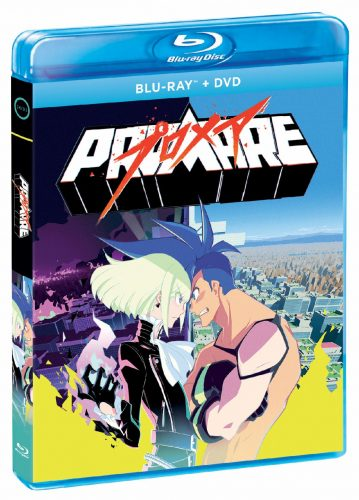 Promare Out On Blu Ray Next Week Collector S Edition In August Inside Pulse