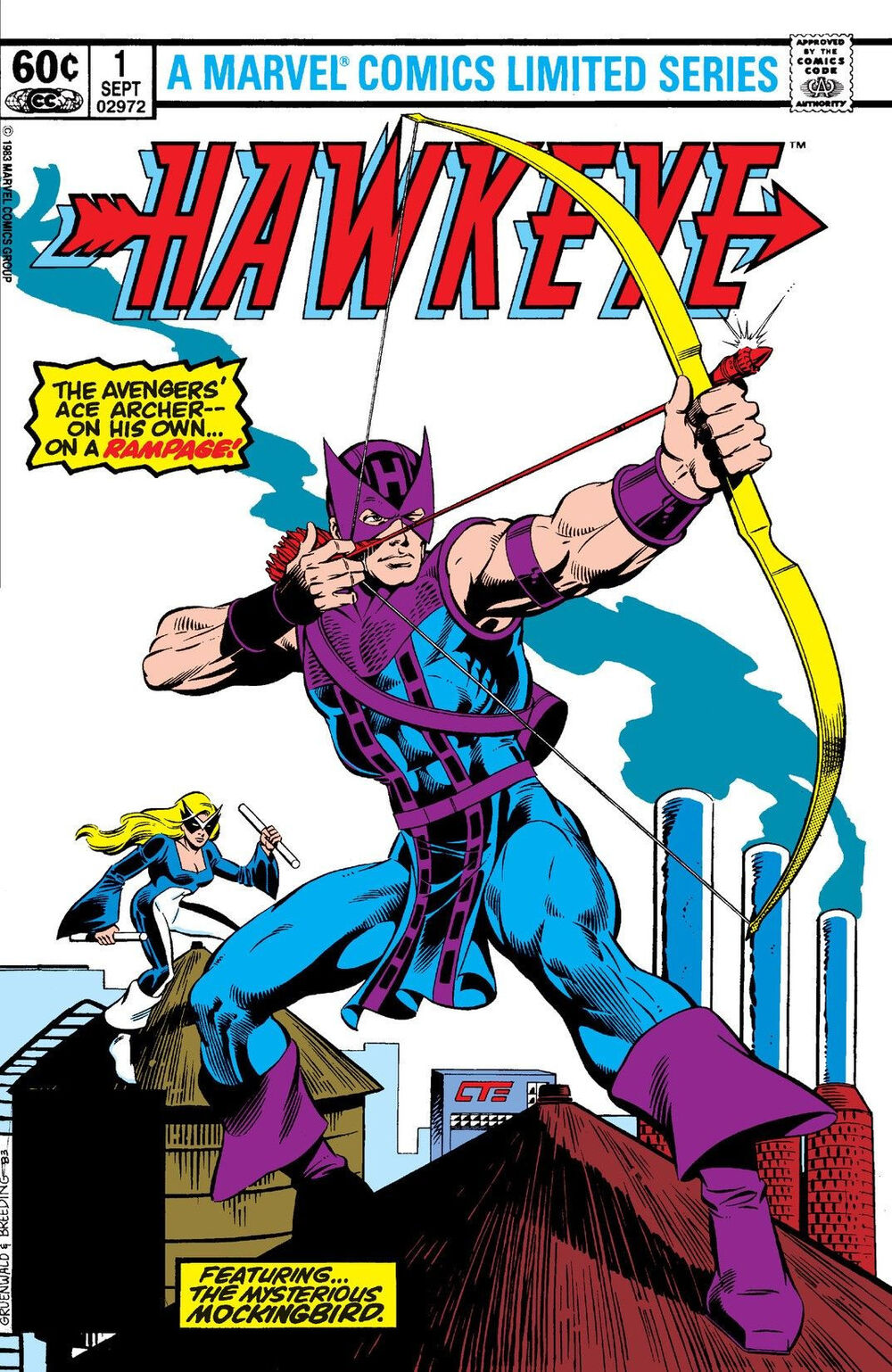 <div>Retro Reviews: Hawkeye #1-4 By Gruenwald & Others For Marvel Comics</div>