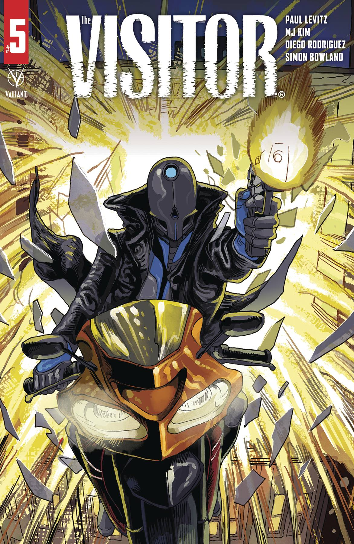 Valiant Entertainment & June 2021 Solicitations Spoilers: Pandemic Delayed The Visitor Ends! What's Next For Paul Levitz?