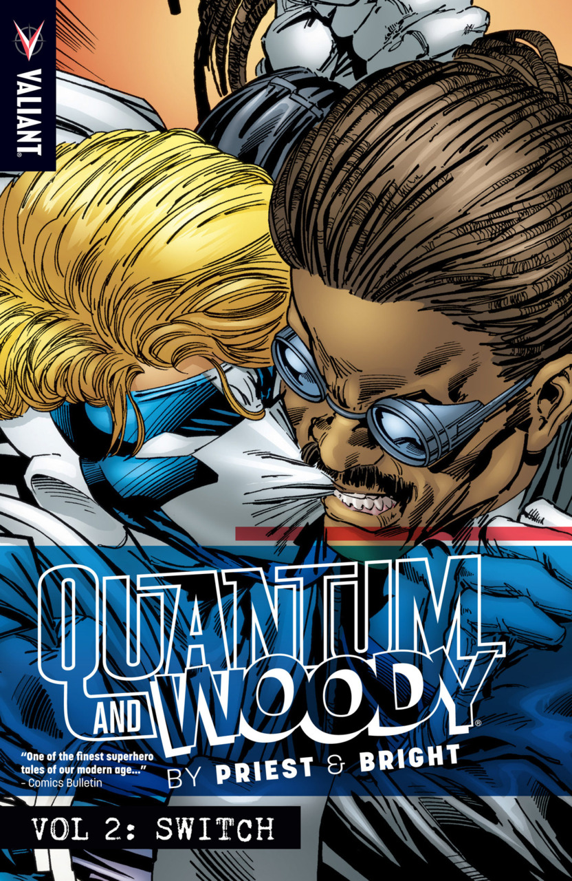 <div>Retro Trade Review: Quantum & Woody Vol. 2: Switch By Priest & Bright For Valiant</div>